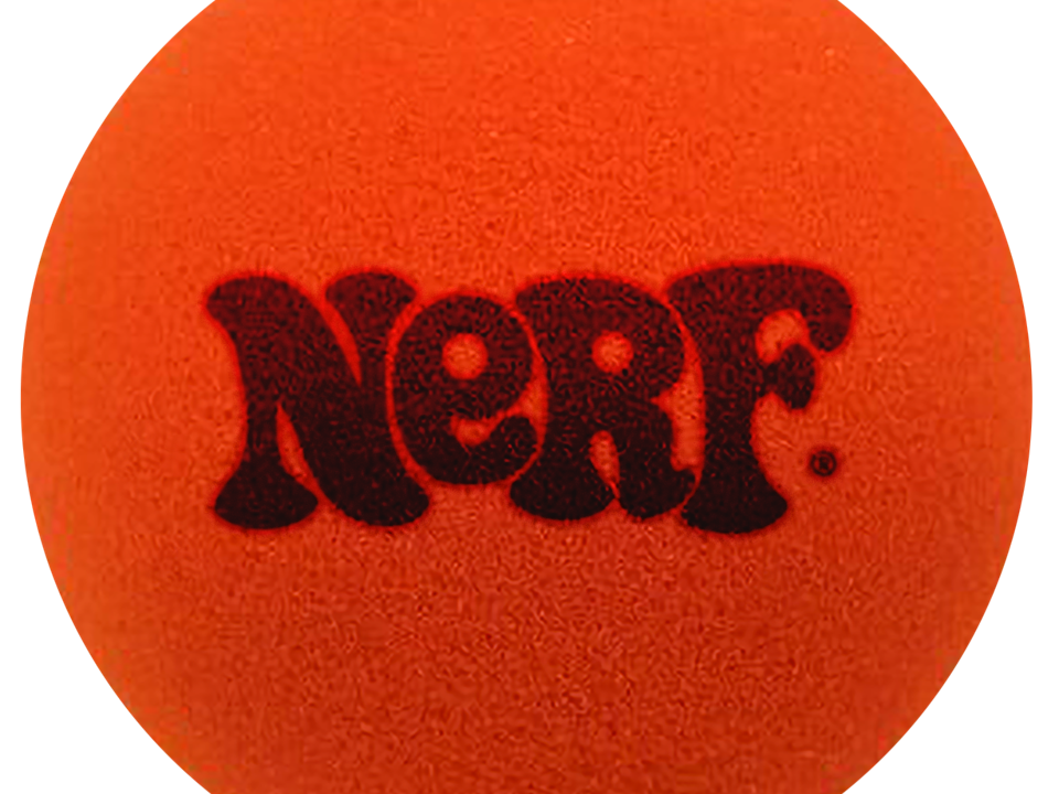The original Nerf foam ball that was released in 1969.