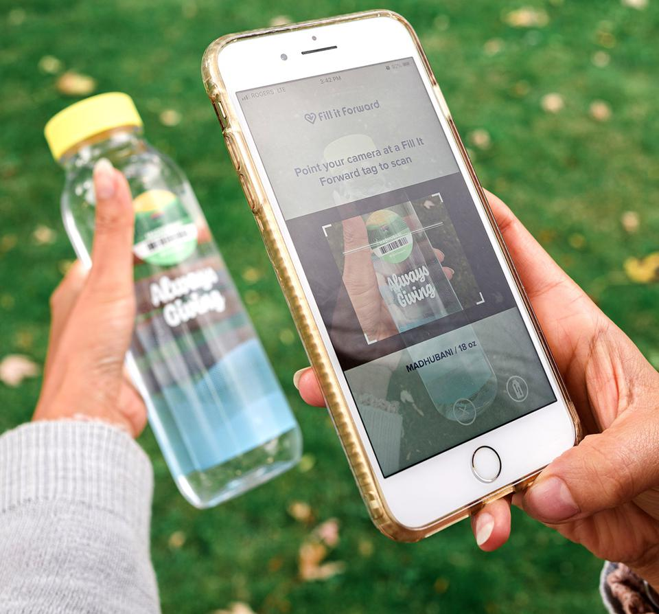 The reuse and scan system is about creating sustainable habits, creators say.