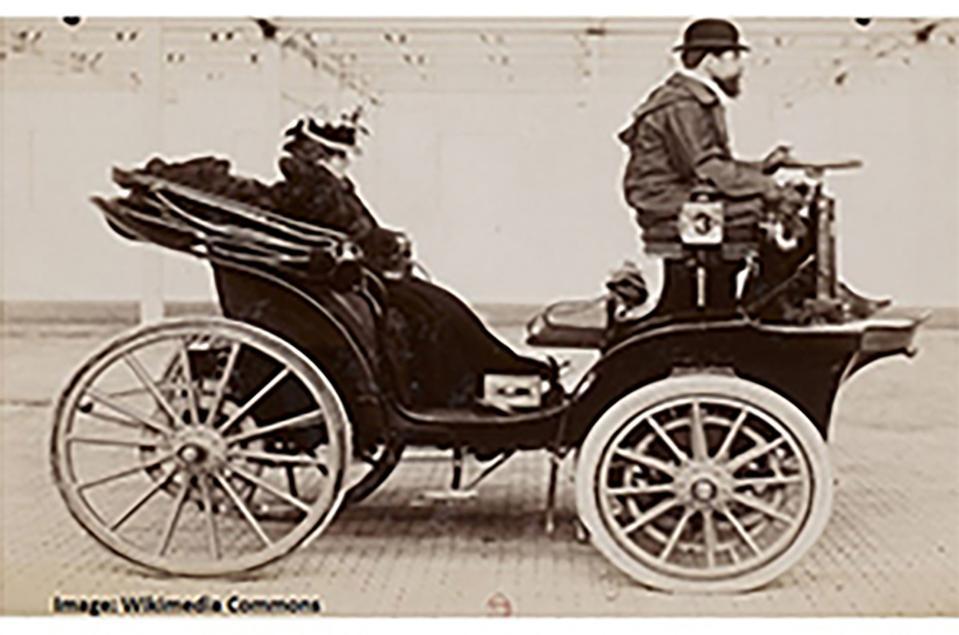 Figure 3: early automobile