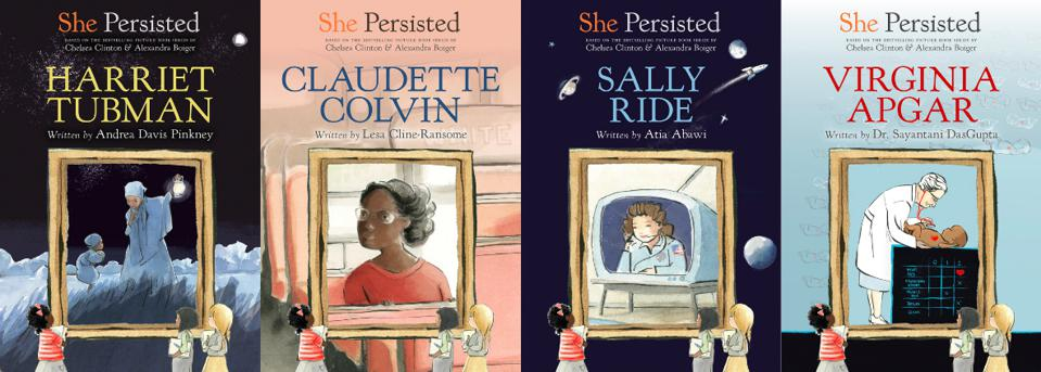 she persisted children's books women's history harriet tubman sally ride virginia apgar