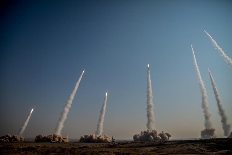Iran Missile Drill