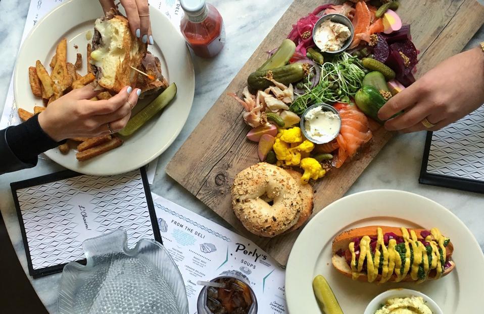 Perly's Jewish Deli Restaurant Richmond Bagels Matzo Ball Soup Reuben Sandwiches