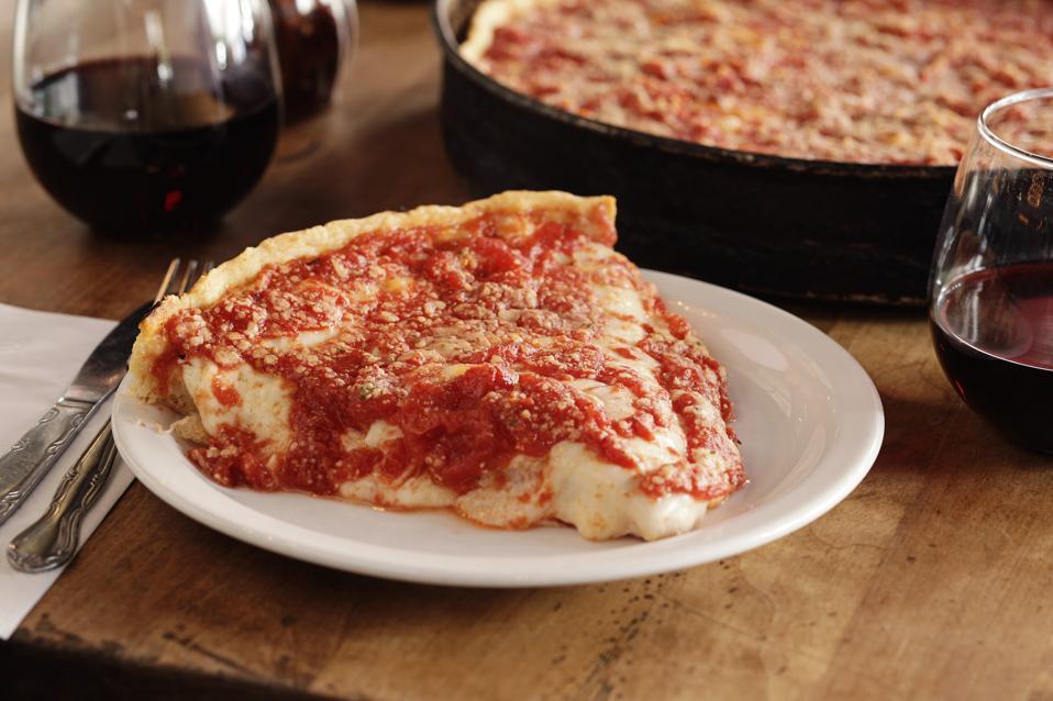 Lou Malnati's Deep Dish Pizza in Chicago