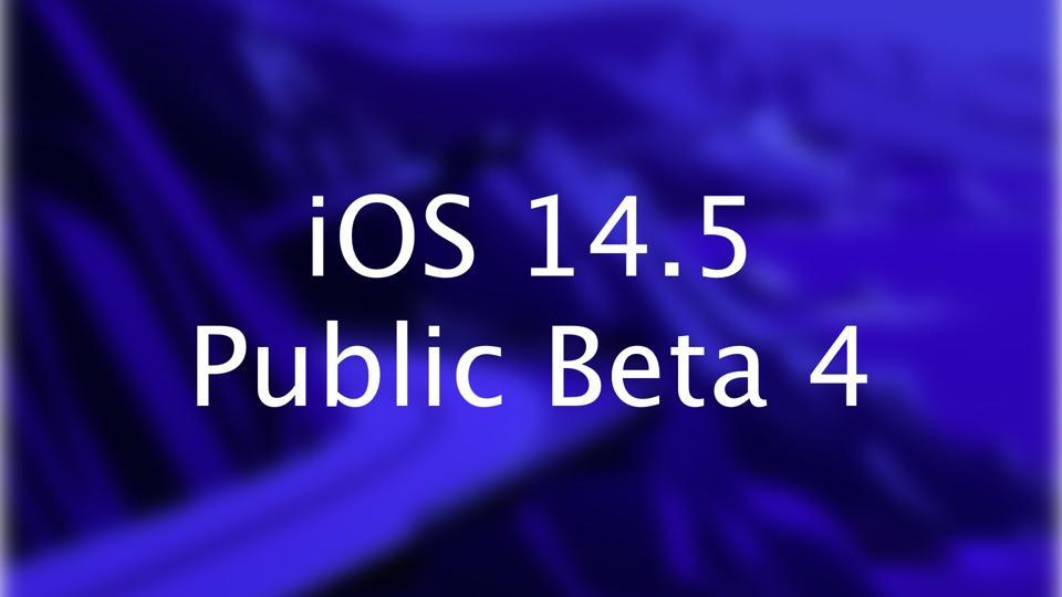 iOS 14 Public Beta 4