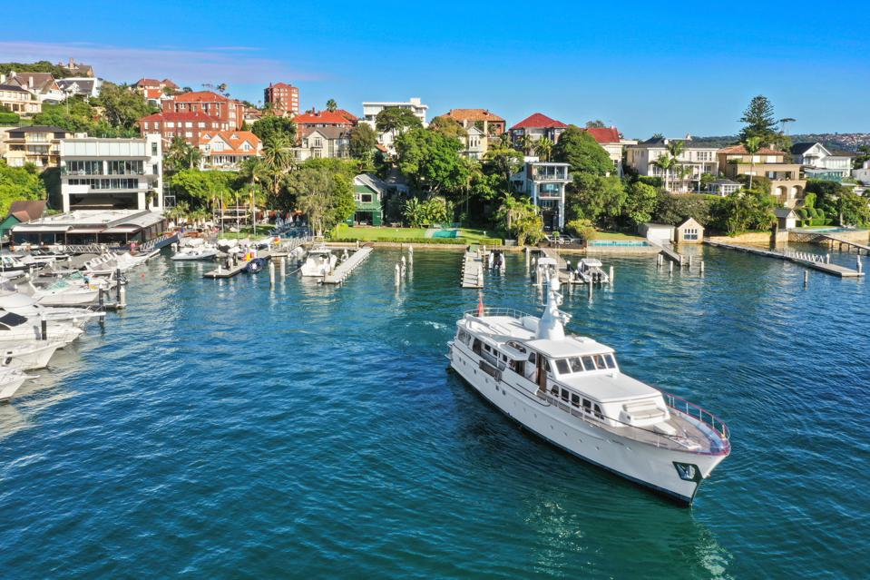 sydney marina waterfront and boatshed residence private luxury home