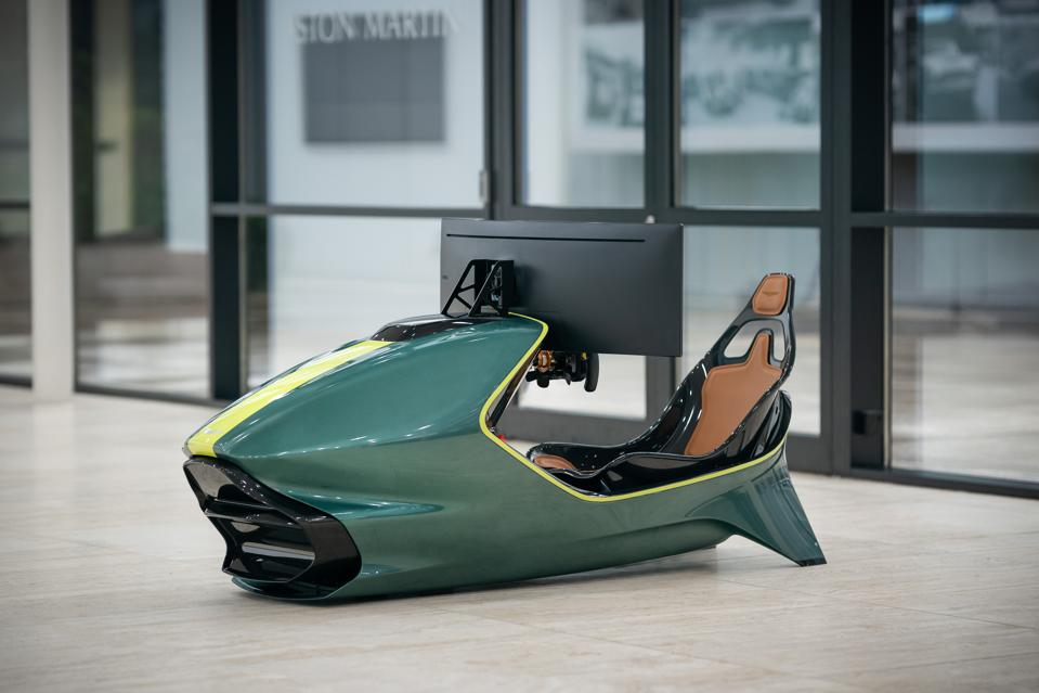 Driving The New Aston Martin Amr C01 On An 80 000 Racing Simulator