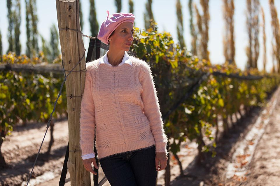 Jimena Lopez makes wine in Argentina for Bodini and owns the Graffito winery.