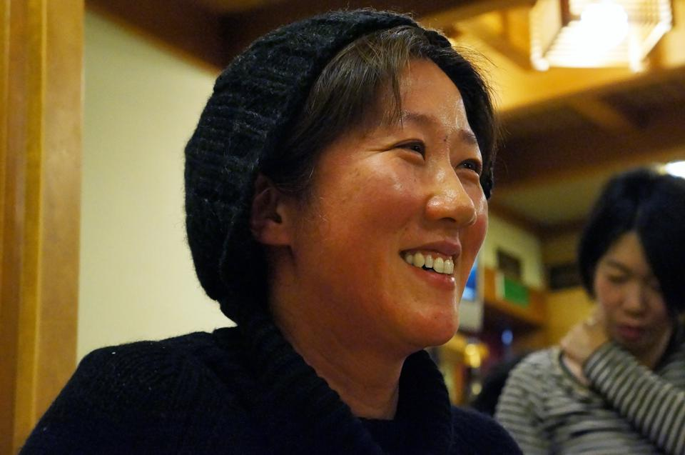 Former toy company executive Miho Fujita switched industries to become the president of Mioya Brewery, which brews Yuho sake in Ishikawa, Japan,