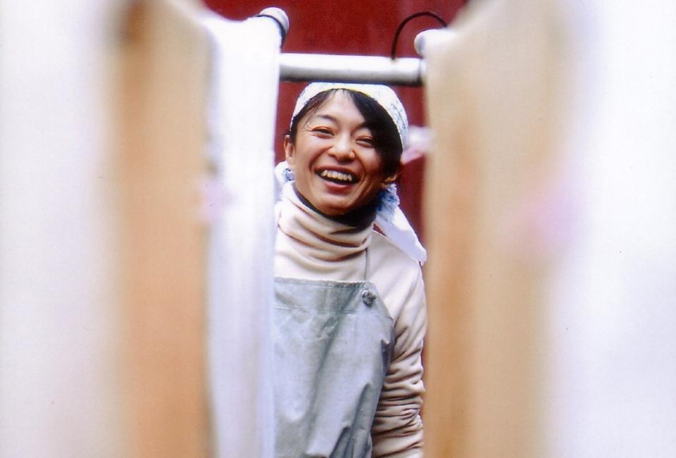 Miho Imada owns Imada Shuzō, which brews Fukucho sake in Hiroshima, Japan