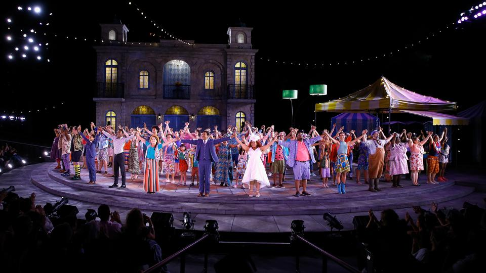Shakespeare In The Park's ″Twelfth Night″ Opening Night