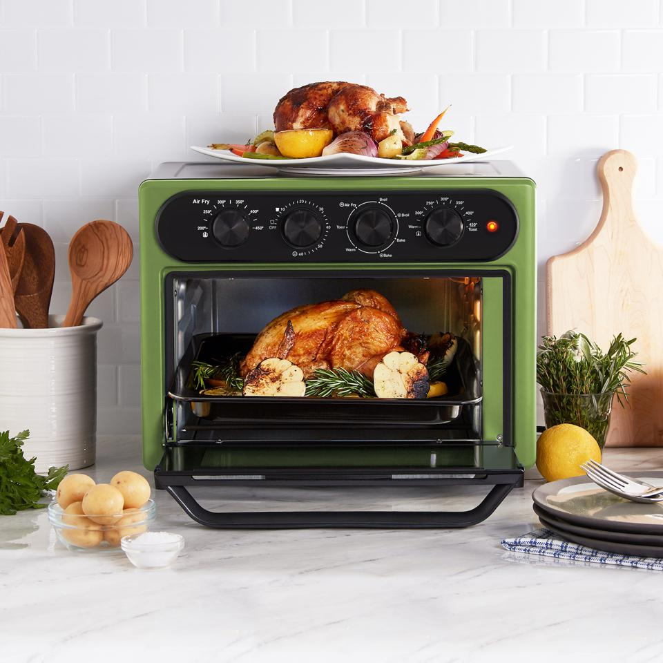 Geoffrey Zakarian 23L Air Fryer Oven with Aircrisp Technology in Sage