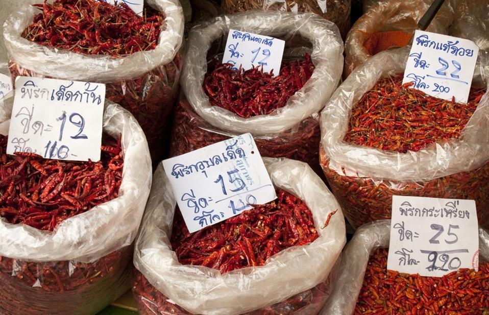 dried chiles thai
