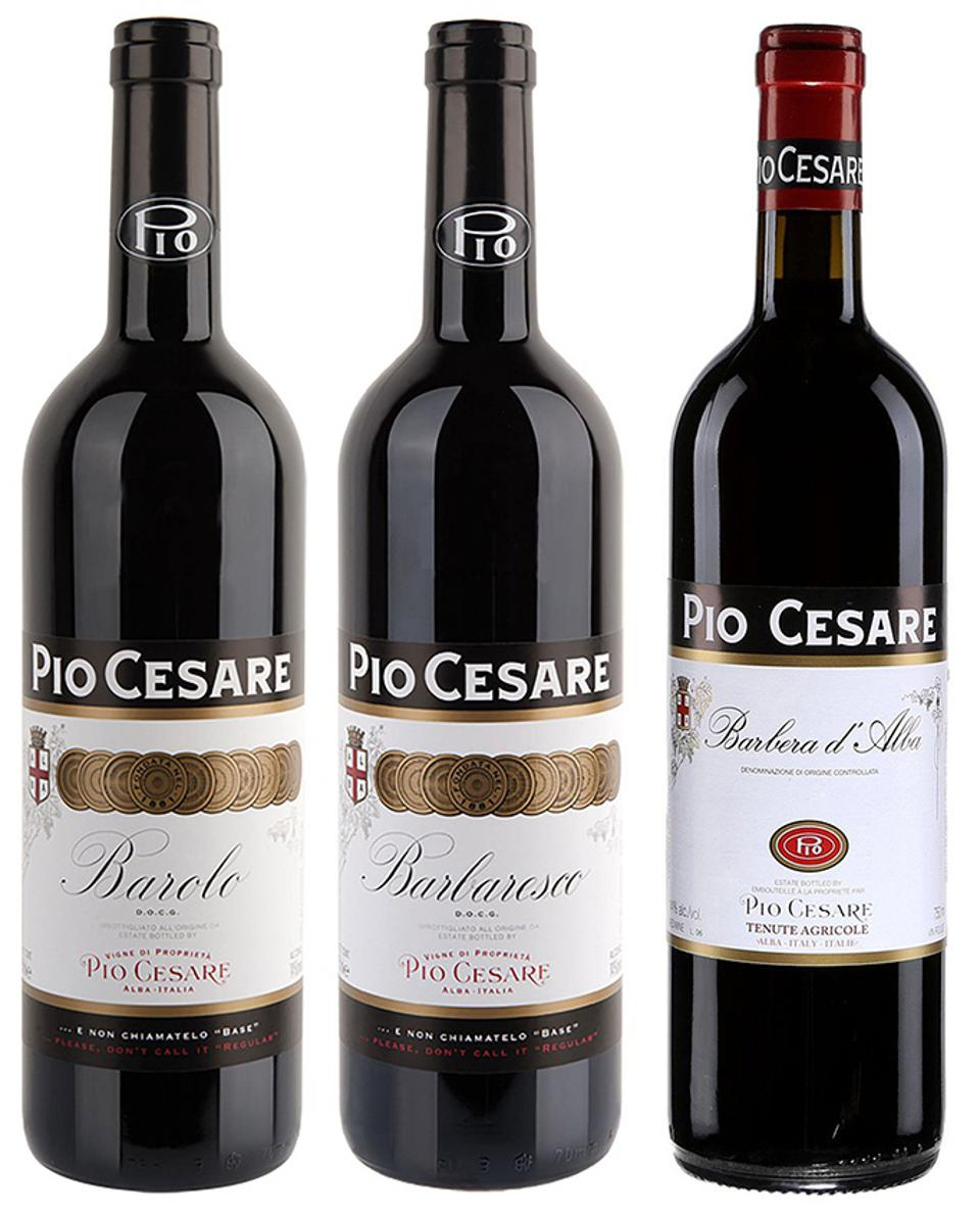 Pio Cesare is a noted producer of Barolo and Barbaresco in Italy's Alba region in Piedmont