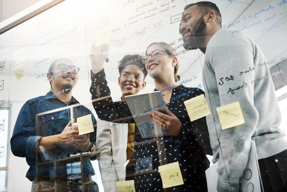 Brainstorming team