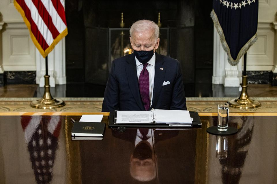 Joe Biden, stimulus check, bitcoin, image