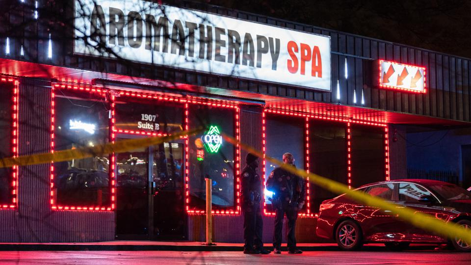 Atlanta shootings massage parlor spa