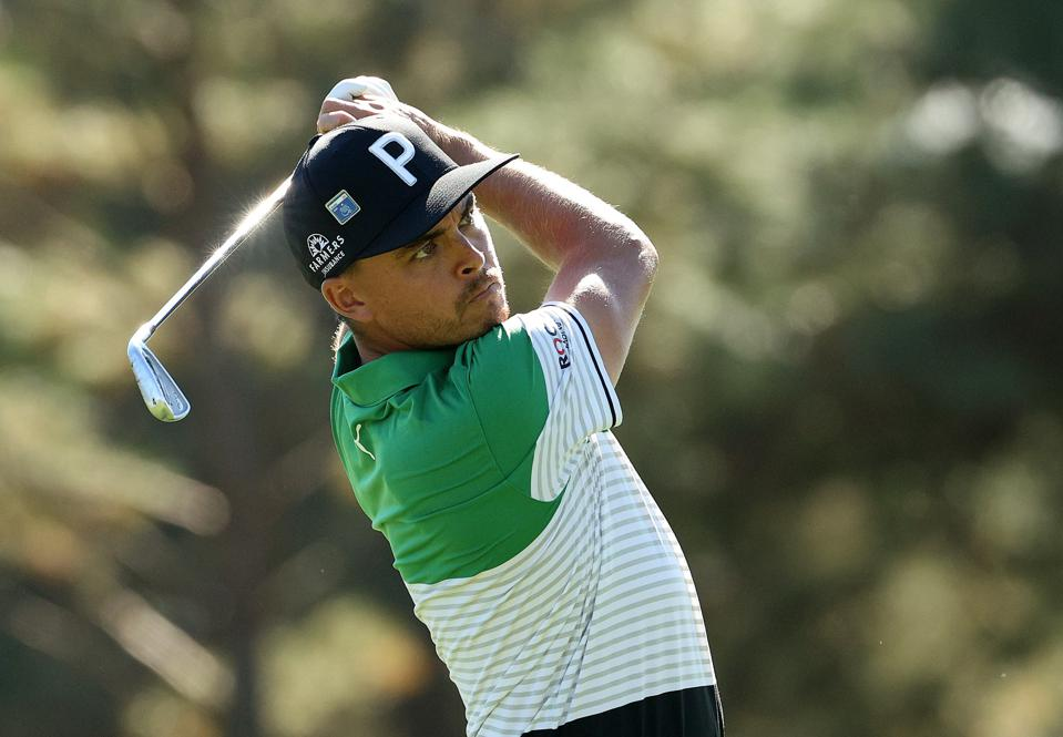 Rickie Fowler  @ The Masters - Round Two