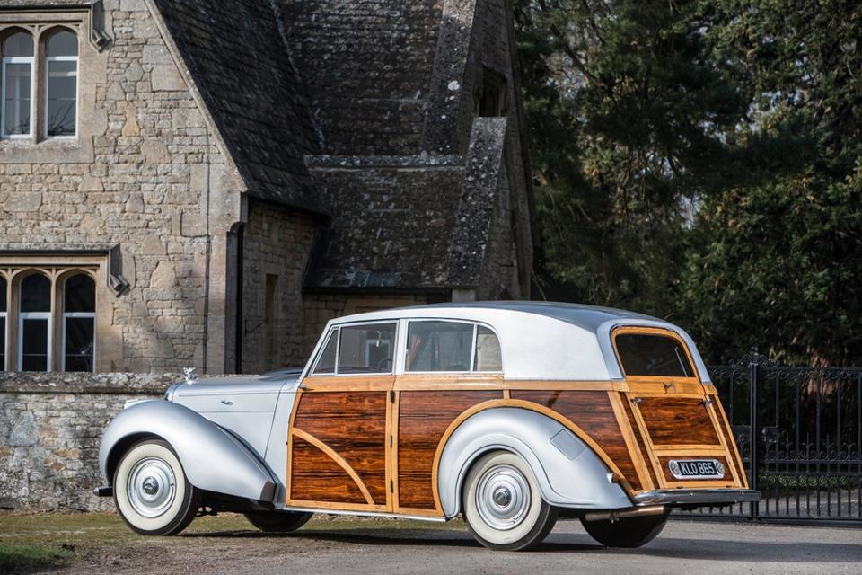 1949 Bentley MKVI 4¼-litre Countryman. Coachwork by Harold Radford