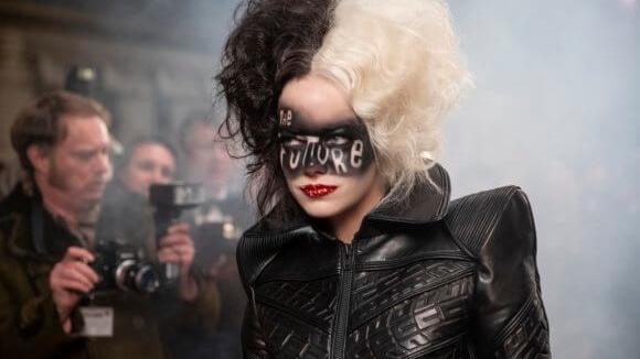 Emma Stone as Cruella in the live-action