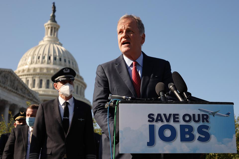 Airline CEOs Seek Emergency Aid On Capitol Hill For Beleaguered Industry