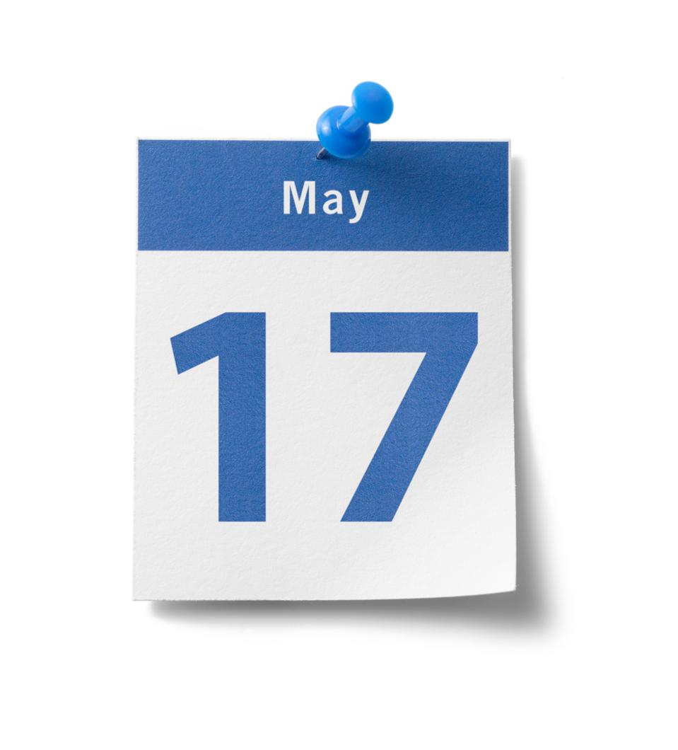 May 17 is the new tax day for 2021.