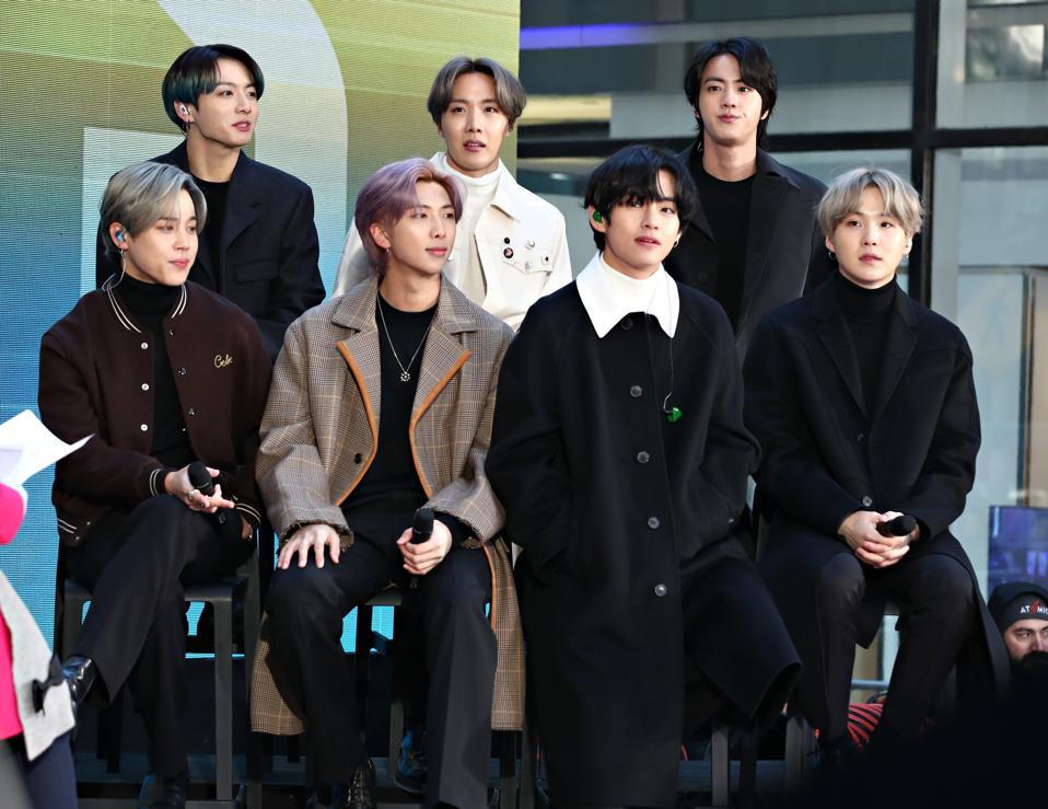 K Pop Band BTS Visits ″Today″ Show