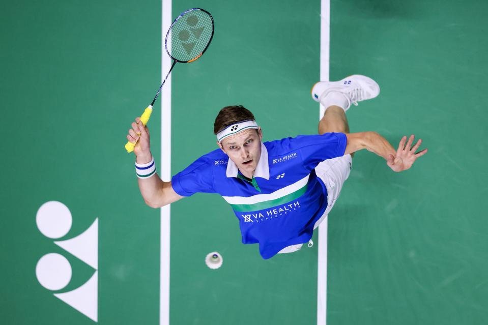 Viktor Axelsen, Denmark's badminton champion