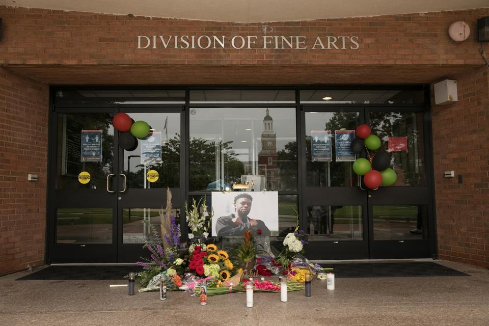 Memorial In Tribute To Chadwick Boseman