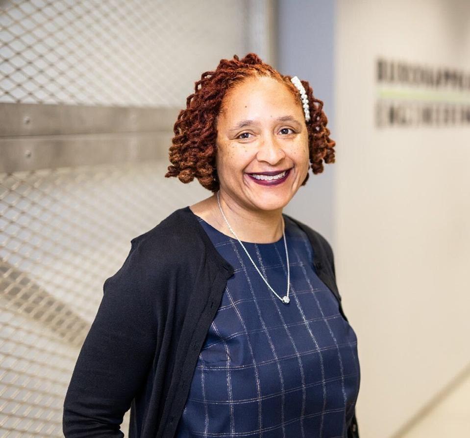Violet Burrowes, CFO of Buro Happold's U.S. operations