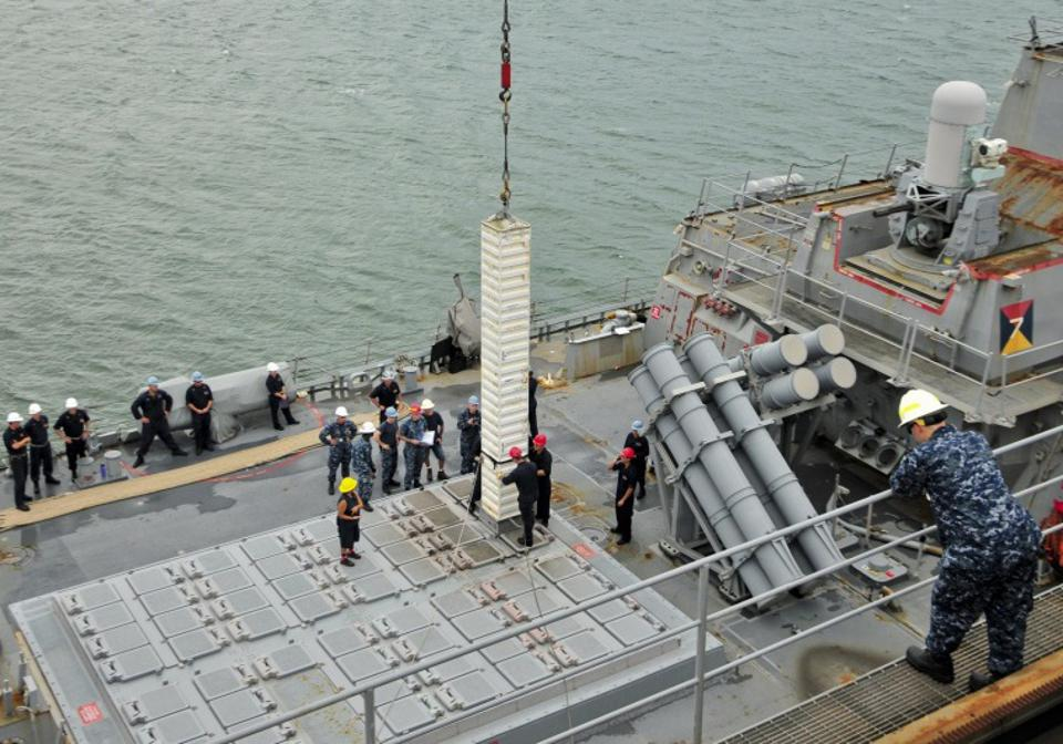 VLS Cells may be too small for modern strike missiles.