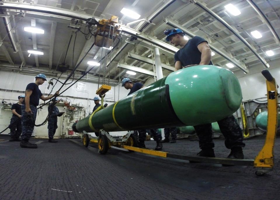 The Navy is looking beyond their big torpedo.