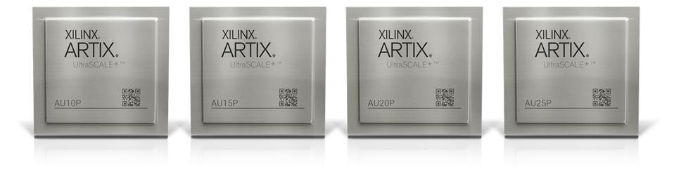 Artix UltraSCALE+ Chips