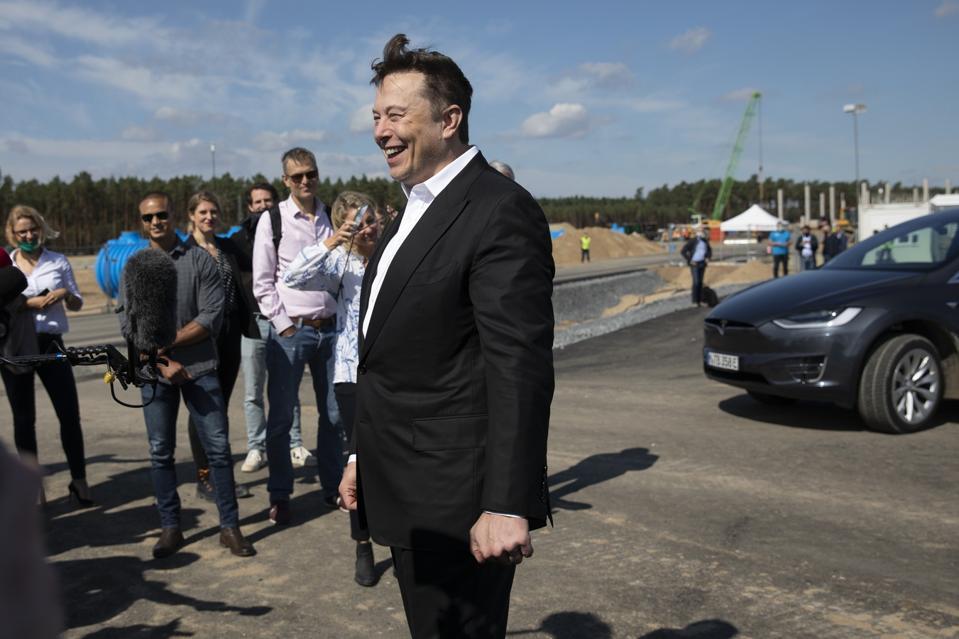 Elon Musk Visits Germany