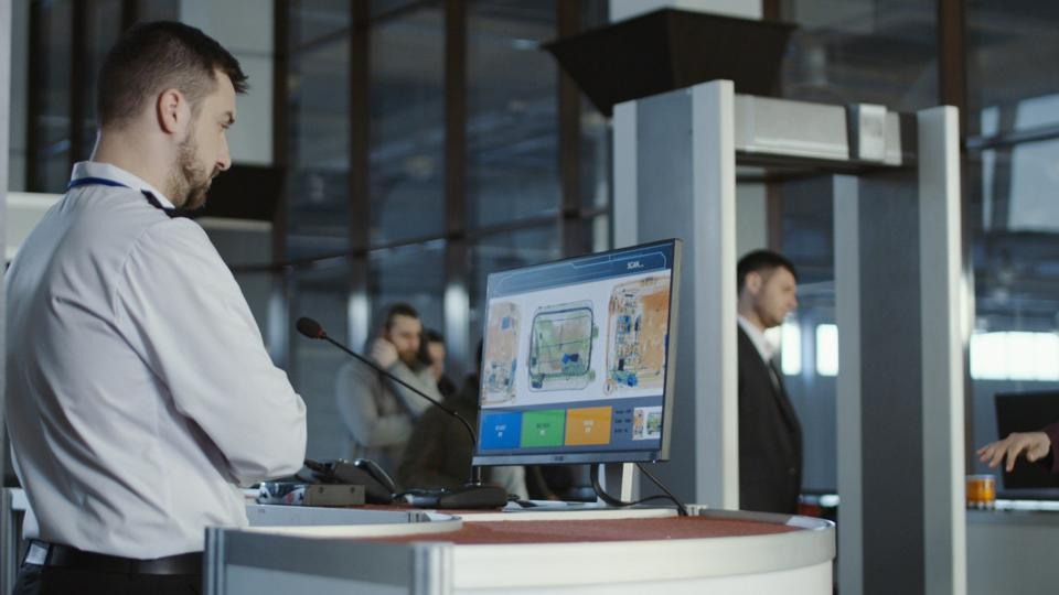 Accelerators help with screening our luggage at the airport