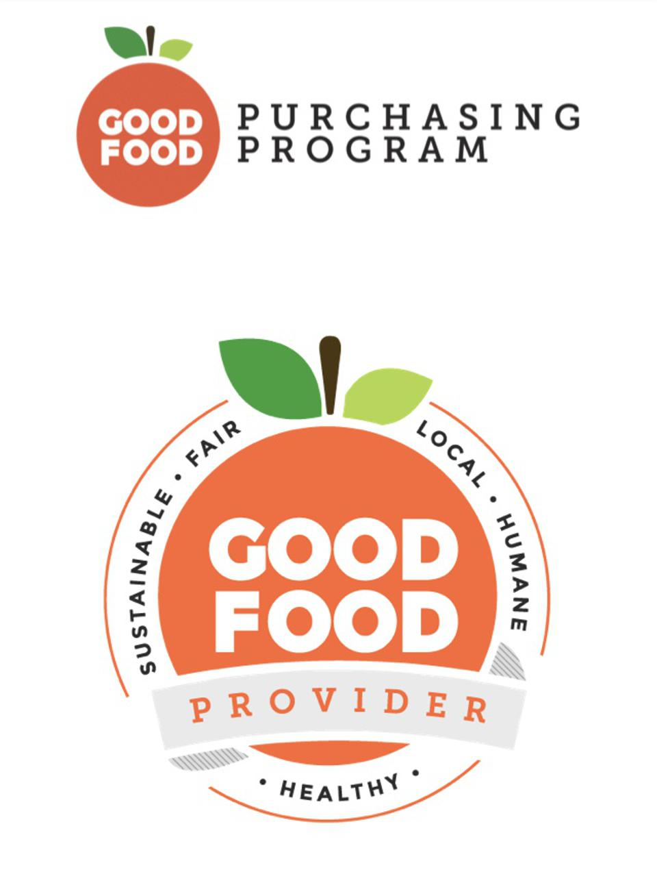 Good Food Purchasing Program's seal of approval.