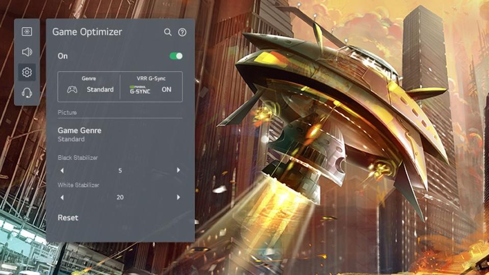 LG OLED65G1 Game Optimizer