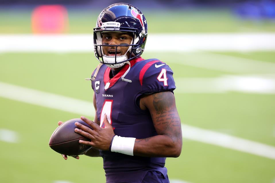 Texans' Deshaun Watson against Titans.