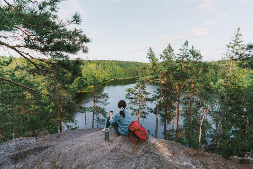 finland nature ranked happy country happiest people