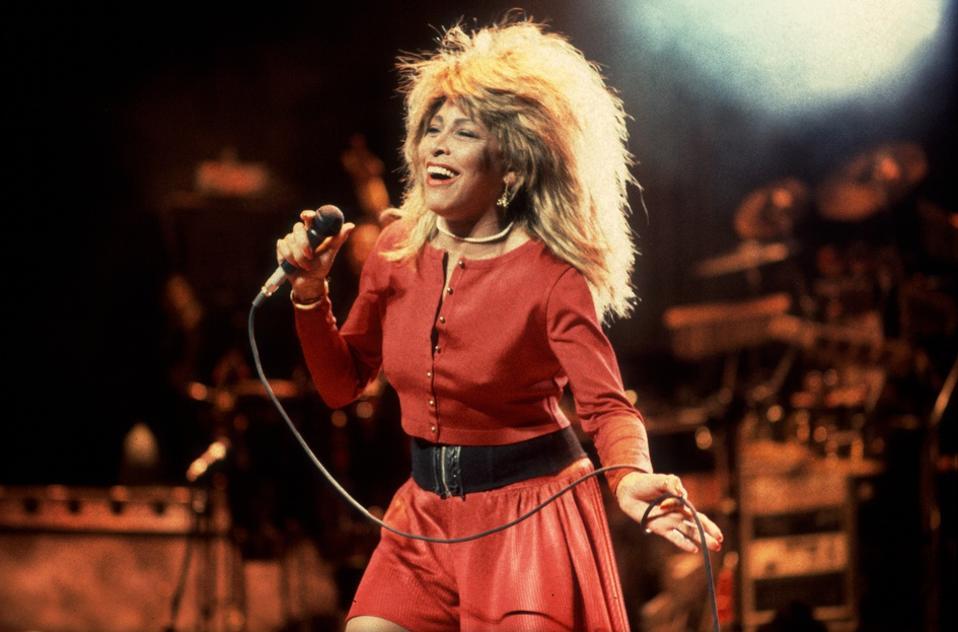 Tina Turner At The Poplar Creek Music Theater