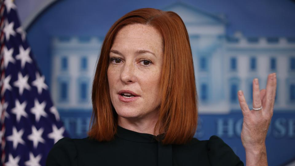White House National Security Advisor Jake Sullivan Joins Press Secretary Jen Psaki At Daily Briefing