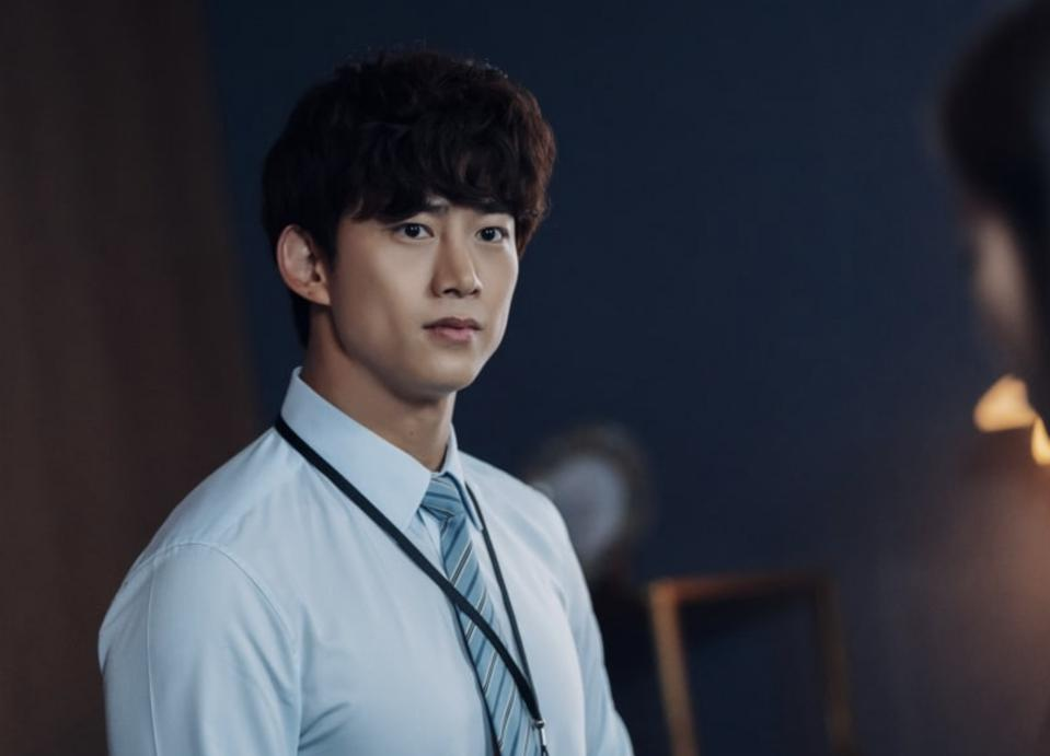 At first glance Taecyeon's character is a happy-go-lucky intern, but he's got a dark side.