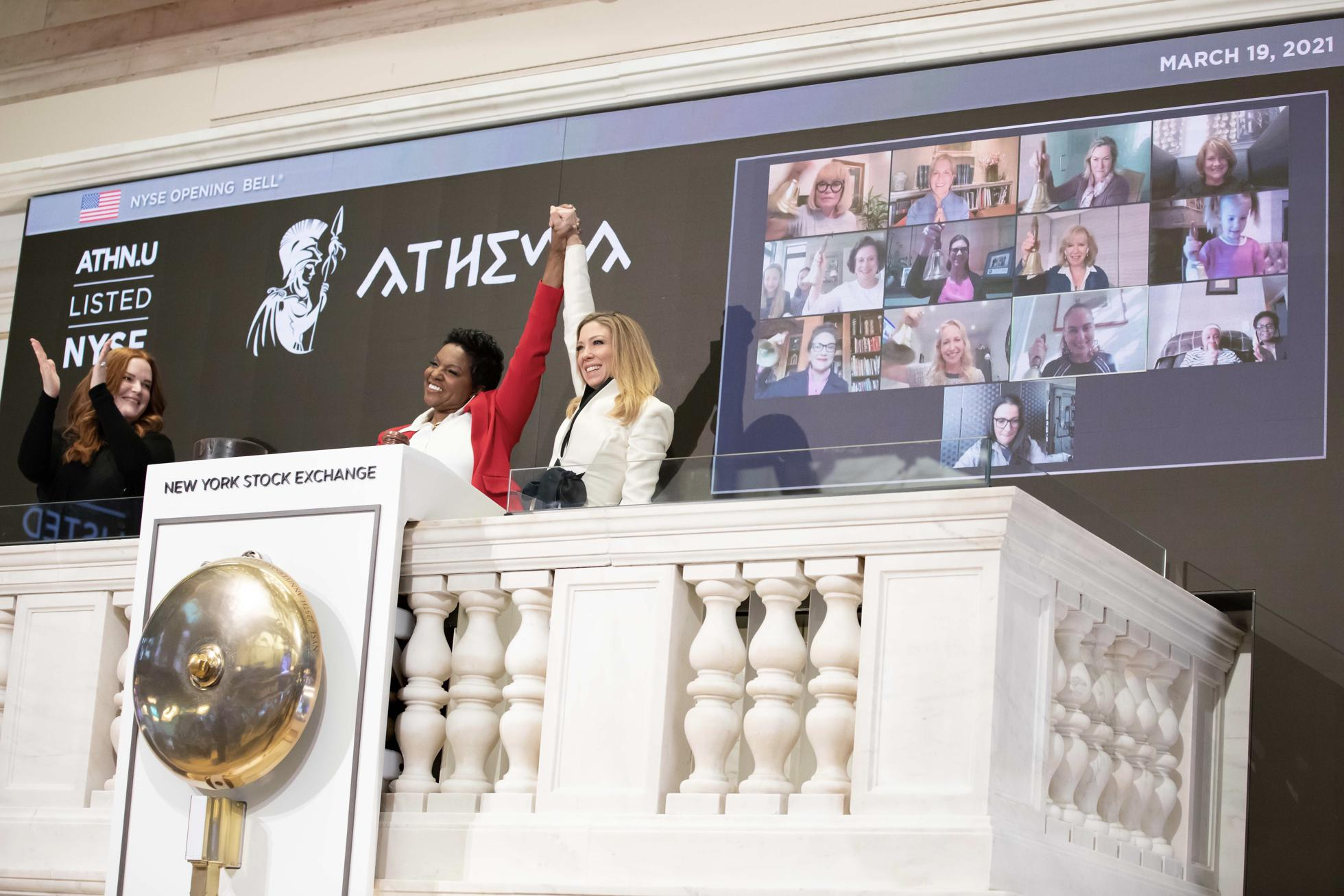 Athena opening bell
