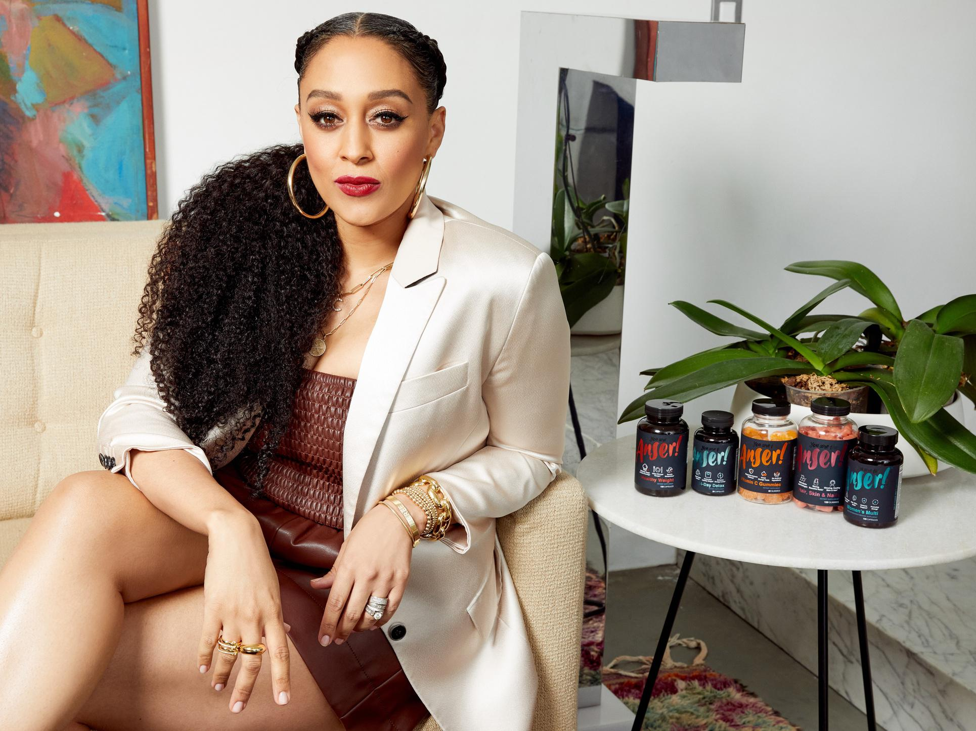 With Anser, Tia Mowry is aiming to make the wellness industry more inclusive.