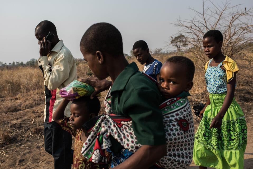 Food Shortages In Malawi As El Nino Causes Damaging Drought