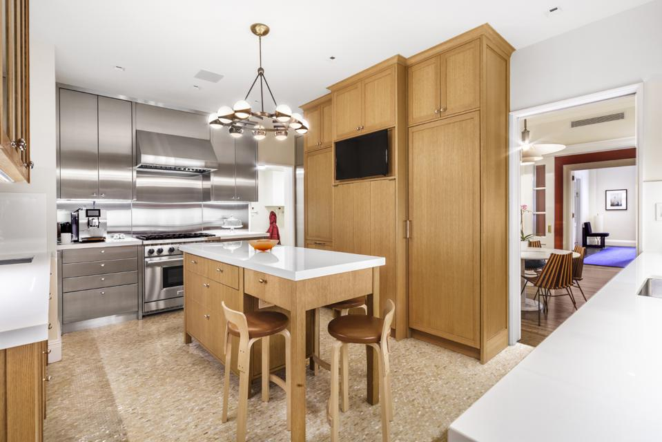 kitchen at apartment 2a in manhattan upper east side