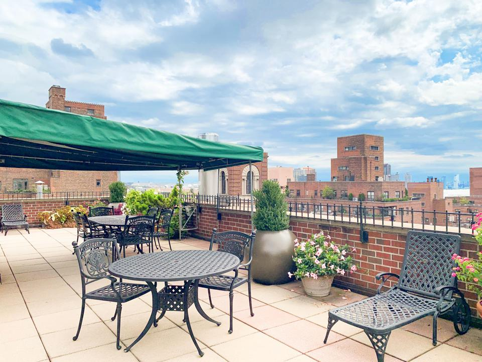 terrace space at 440 East 57th Street in new york city sutton place manhattan