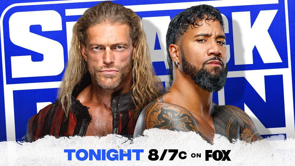 Edge vs. Jey Uso to decide an enforcer for WWE Fastlane.