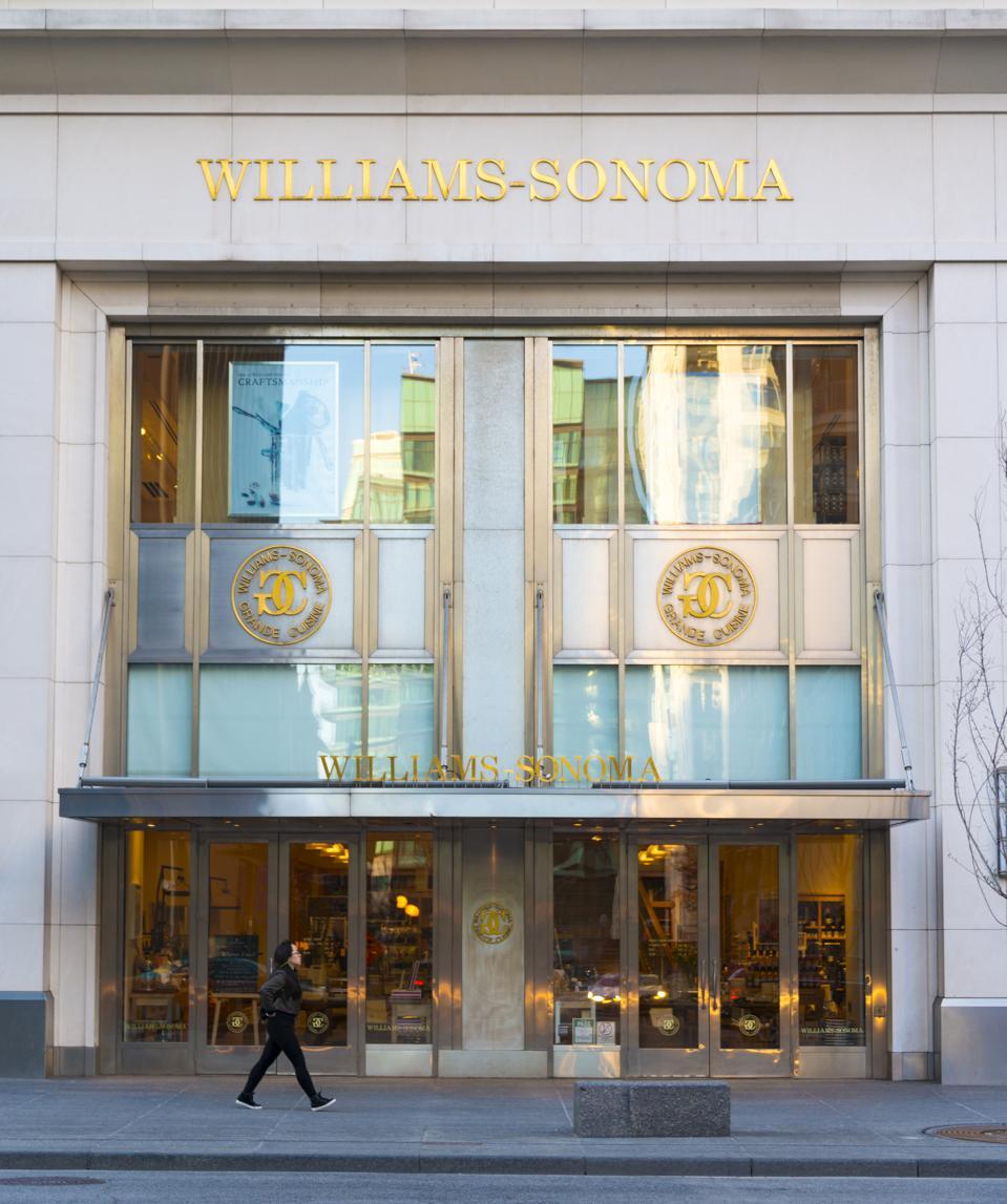 Exterior of Williams Sonoma store in Toronto. Williams...