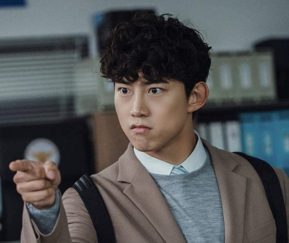 Taecyeon's character is secretly the CEO of a nefarious corporation.