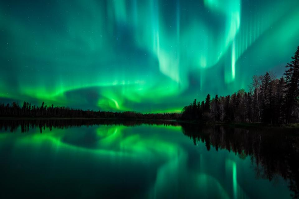 The aurora borealis tend to be stronger around the equinox.